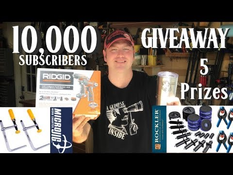 10,000 Subscriber Giveaway! 5  Total Prizes, 1 Grand Prize