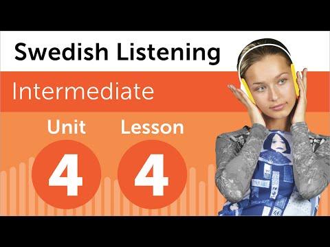 Swedish Listening Practice - Listening to a Swedish Weather Forecast