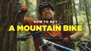 How to Buy a Mountain Bike