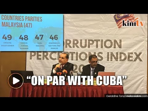 Corruption ranking: Malaysia on par with Cuba