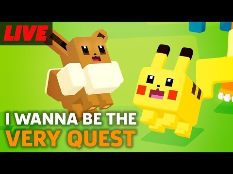 Pokemon Quest First Hour of Gameplay Live