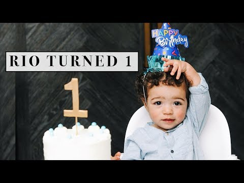 Vlog: Rio's 1st Birthday | Shorty Awards 2018
