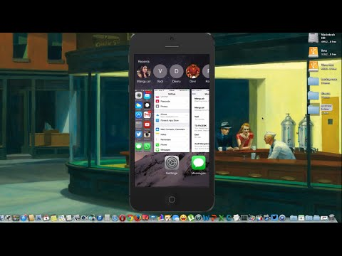 How to Disable contact in App Switcher in iOS 8