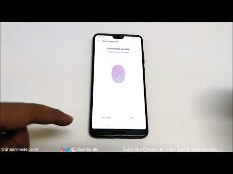 Huawei P20 / P20 Pro - How to Setup Fingerprint Scanner to Perform Multiple Tasks