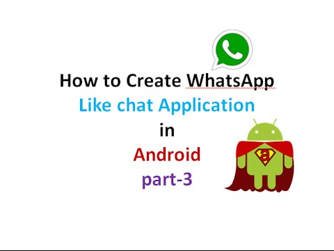 How to Create chat Application like WhatsApp:part3 | ShoutCafe.com