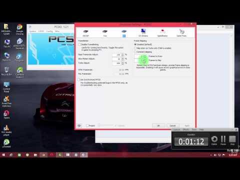 pcsx2 1.2.1 configuration windows 7/8/8.1 full speed