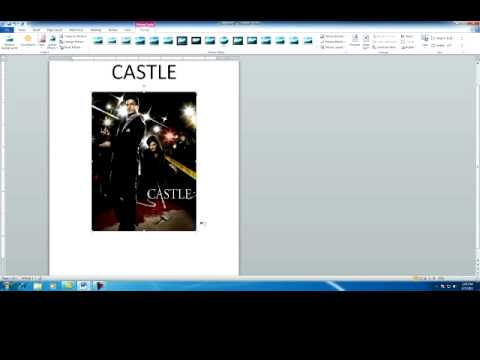 Microsoft Office Word PC: How to Create a Flyer