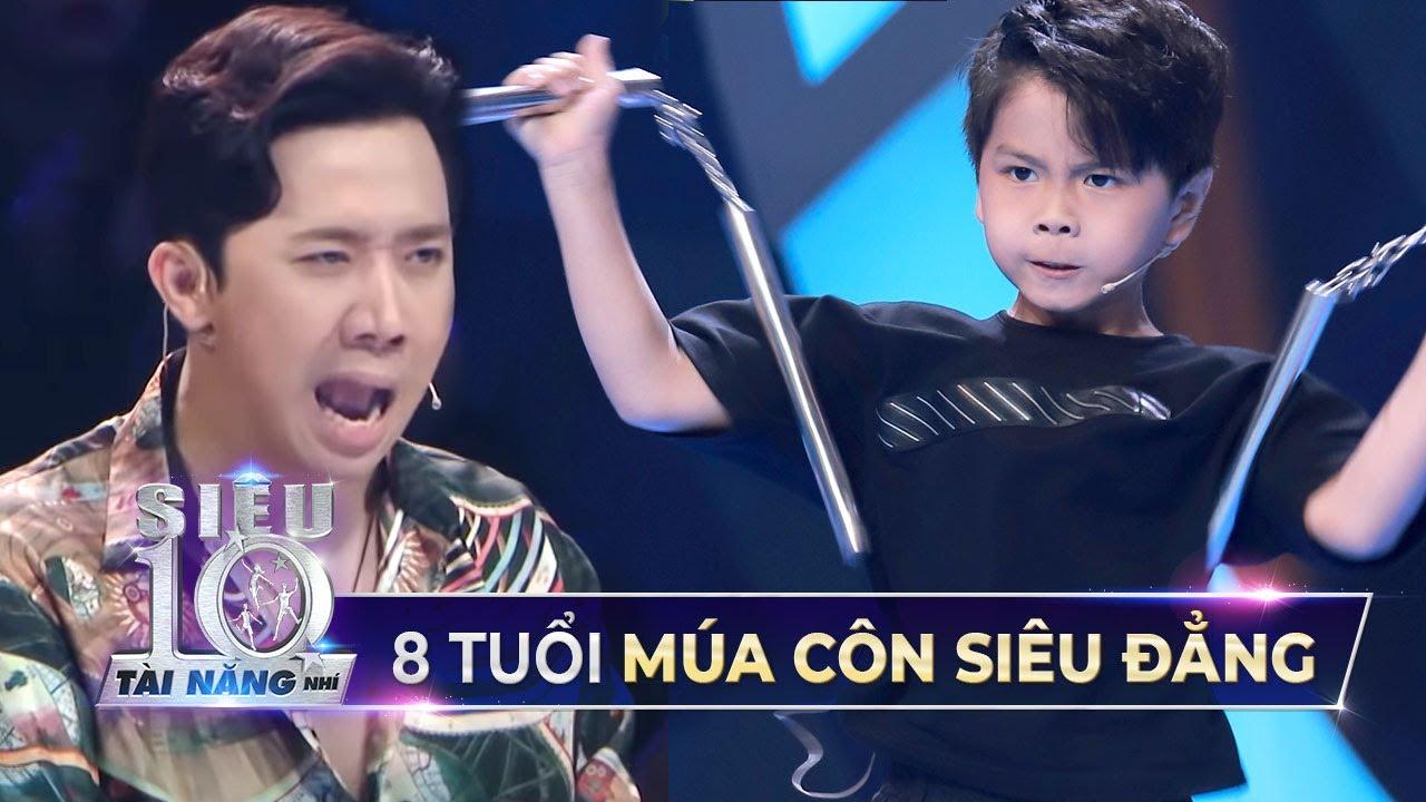 Cậu bé 8 tuổi khiến Trấn Thành, Hari Won HÁ HỐC vì tài múa côn THƯỢNG THỪA  Siêu Tài Năng Nhí Tập 11