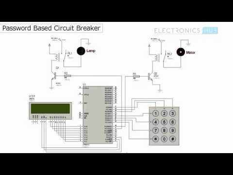 Password Based Circuit Breaker using 8051 Microcontroller