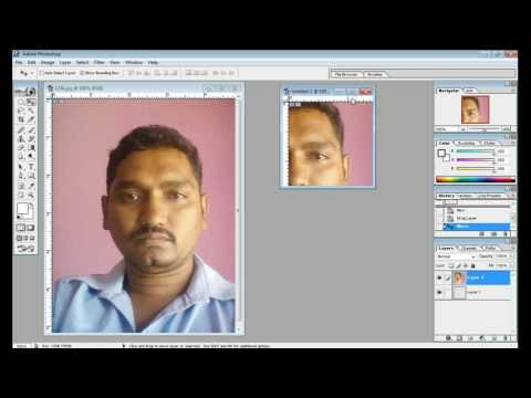 How to create photo fix  213 213 pixel digital seva in pan card