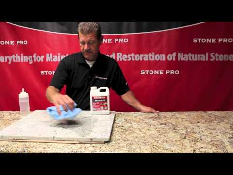 Stone Pro: How To Seal Granite Countertops With StonePro's PRO SEALER