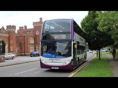 Stagecoach East Midlands   ADL Enviro 400/Scania N230UD   53 to Lincoln   15176 (YN64XTD)