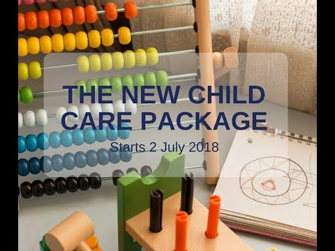 The New Child Care Package 2018