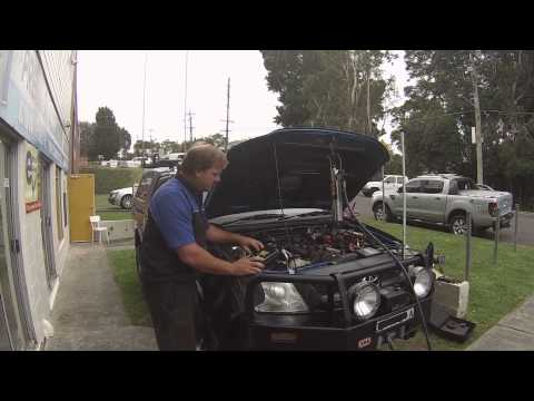 Decarbon on a Toyota hilux