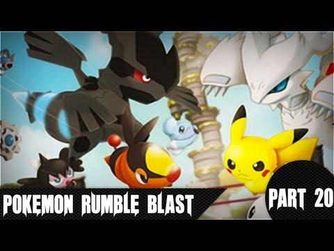 Pokémon Rumble Blast - 3-2 Volcanic Slope (Battle Royale)