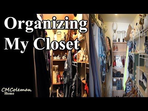Straightening Up My Closet