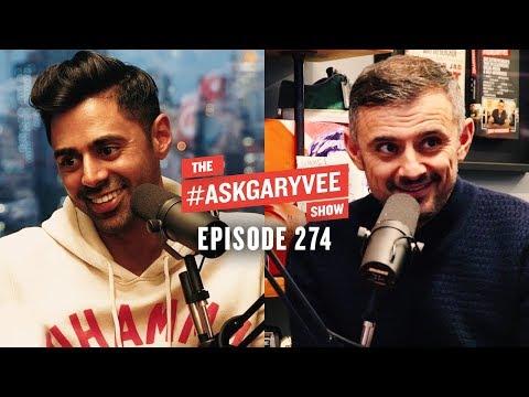 Hasan Minhaj, Homecoming King, White House Correspondents Dinner & Immigrant Parents| AskGaryVee 274
