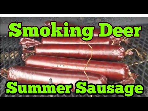 How to make deer summer sausage Part 2