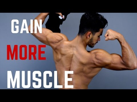 How To Gain MORE Muscle in 3 EASY Steps