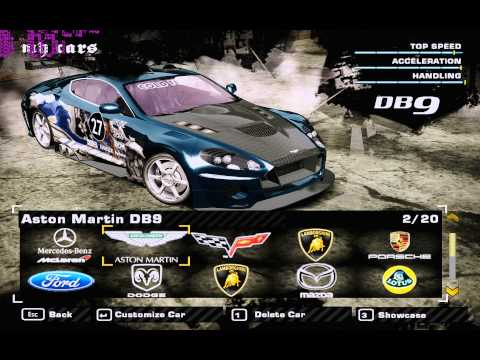 NFS Most Wanted 2005 ENB V3 0 My Cars Gameplay on GTX 770 OC Win7 32-bit