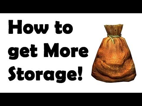 The Elder Scrolls Online: More Storage Guide (How to get more)