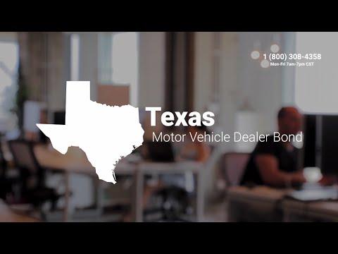Texas Motor Vehicle Dealer Bond