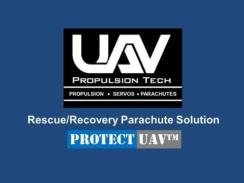Protect UAV - Rescue Recovery Parachute Solutions for UAVs and Drones