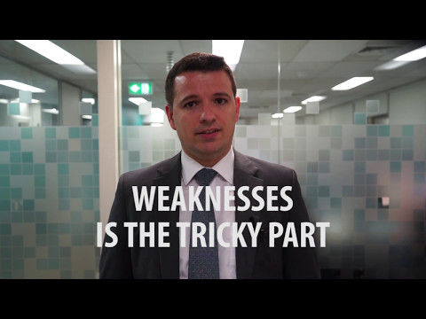 Job Interview: Strengths and Weaknesses