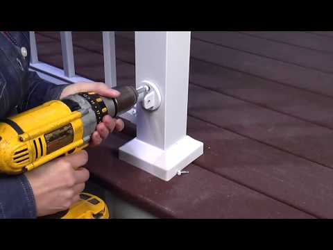 How to Install: Aluminum Railings Stairs