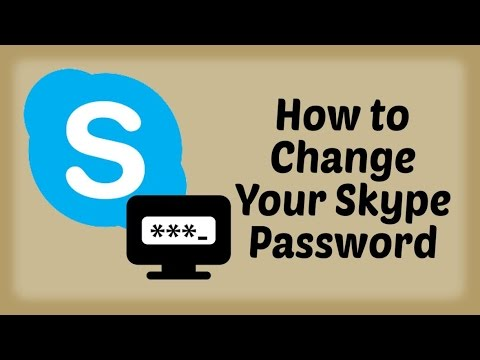 How to Change Your Skype Password in Hindi | Skype How To Tutorials in Hindi