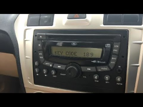 How to fix Key Code Issue in Ford Figo and Ford Fiesta Classic Music System