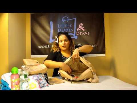 Storksak Elizabeth Diaper Bag Details and Information