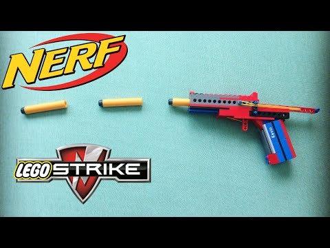 Working LEGO Nerf Gun - TUTORIAL