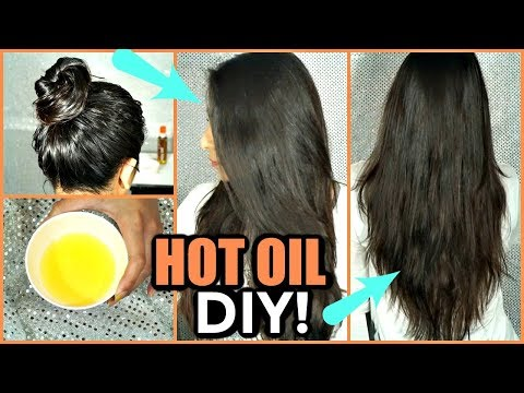 HOW TO DO HOT OIL HAIR MASK ON YOUR HAIR!│MANGO HOT OIL TREATMENT FOR DRY, BRITTLE, DAMAGED HAIR!