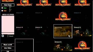 C# memory game: Mortal Kombat