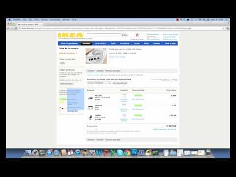 Order Ikea Online in Barcelona