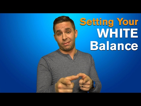 Setting Your White Balance!