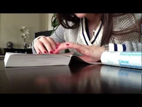 How To Laminate A Paperback Book Part 2 Of 2