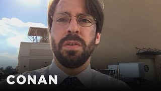 Martin Starr Spills spider man Homecoming Spoilers Conan On Tbs