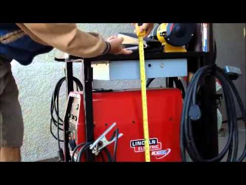 Finally Tig Cart Design Dimensions so you can make your own welding cart/ table