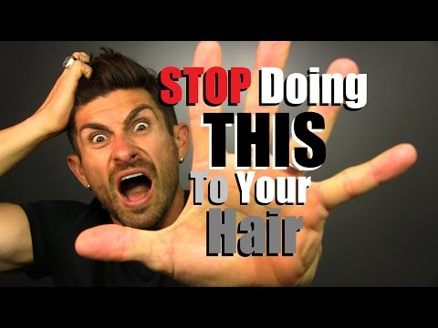 STOP Doing THIS To Your Hair!! 6 Hair Care Mistakes Men Make