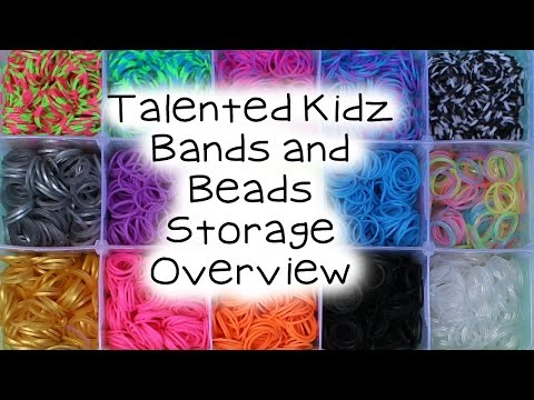 Talented Kidz Bands and Beads PLUS Storage Overview