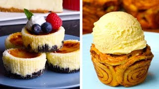 Download 6 Clever Dessert Mashup Recipes   S'mores Baked Alaska & Oreo Crème Brûlée Cheesecake   So Yummy Video