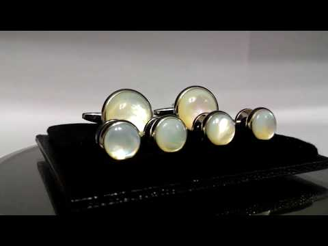 Mother Of pearl Cufflink Studs CCTS884