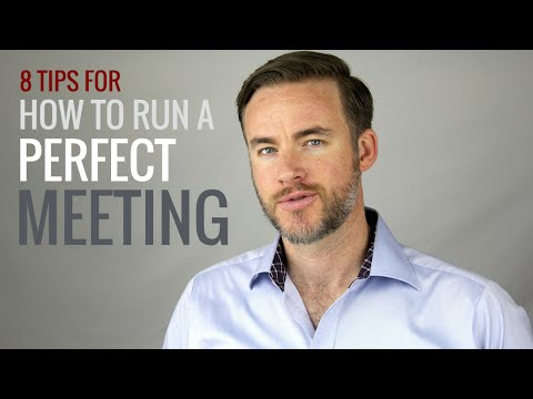 8 Tips for Running More Effective Meetings | The Distilled Man