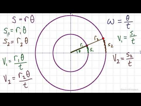 Arc Length and Angular Speed Part 2 (Arc Length and Linear Speed)