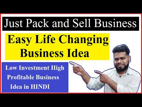 Just pack and sell easy life changing business idea