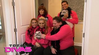 Natalya's professional family photo shoot turns into a mess: Total Divas, March 15, 2016