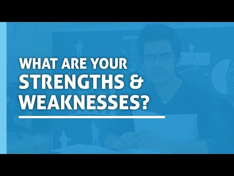 What Are Your Strengths And Weaknesses | Interview Questions and answers