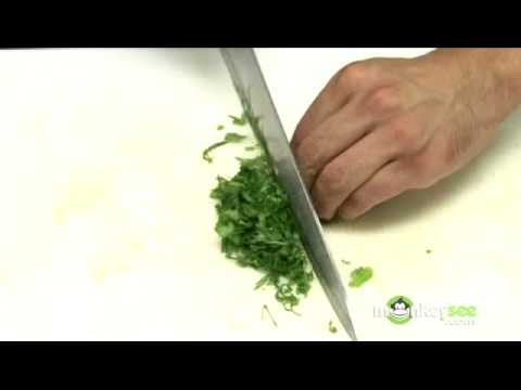 How to Cut Cilantro and Juice a Lime for Guacamole